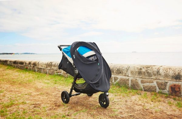 Moonlight Baby Sleep Consultant Melbourne - Cozigo sleeping on the go - shown on different types of prams and bassinet