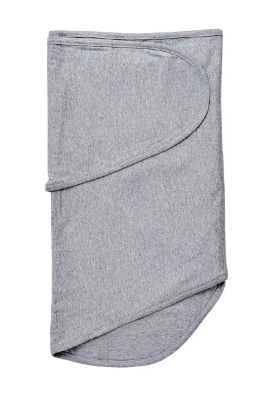 Moonlight Baby Sleep Consultant Melbourne - Miracle Blanket -Grey Heather swaddle - swaddling to contain startle reflex