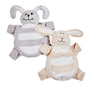 Moonlight Baby Sleep Consultant Melbourne - Sleepytot grey bunny and cream lamb