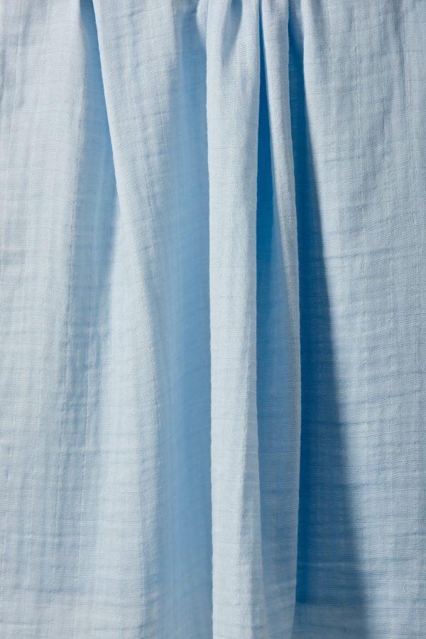 Weegoamigo Bamboo Muslin. Super soft cotton . Swaddling swaddle. soft blue. Moonlight Baby Sleep. Melbourne.