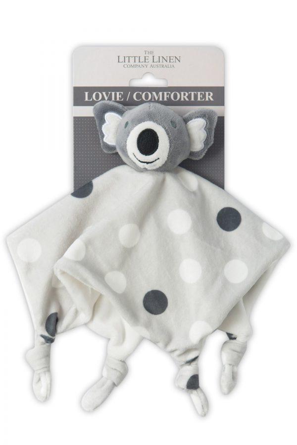 Koala Spots - Little Linen Comforter Moonlight Baby Sleep