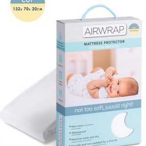 Airwrap Mattress Protector Cot Moonlight Baby Sleep