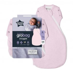 Grobag Snuggle Pink Marl Moonlight Baby Sleep