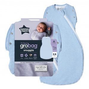 Grobag Snuggle Blue Marl Moonlight Baby Sleep