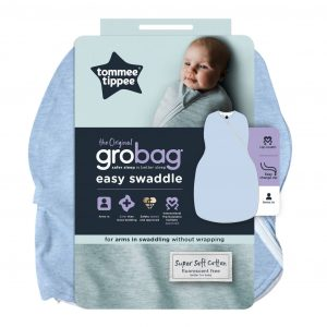 GroBag Easy Swaddle Moonlight Baby Sleep