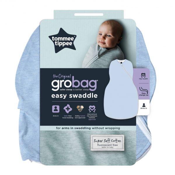 GroBag Easy Swaddle Moonlight Baby Sleep